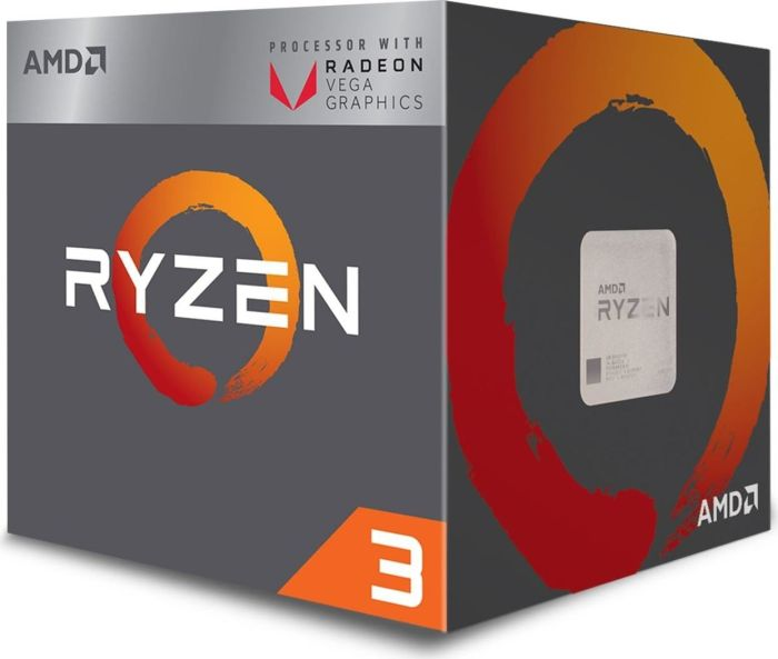 AMD CPU Desktop Ryzen 3 4C/4T 2200G