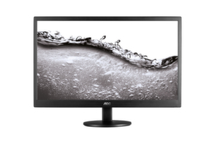 "AOC E2070SWN, 19.5""Wide TN LED, 5ms, 20М:1 DCR, 200 cd/m2, 1600x900 HD+, Black"