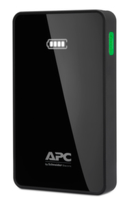 APC Mobile Power Pack, 5000mAh Li-polymer, Black