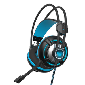 Слушалки AULA G93V Spirit Wheel gaming headset, over-ear, closed,