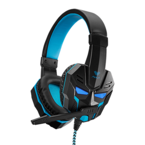 Слушалки AULA LB01 Prime gaming headset с микрофон, оver-ear,