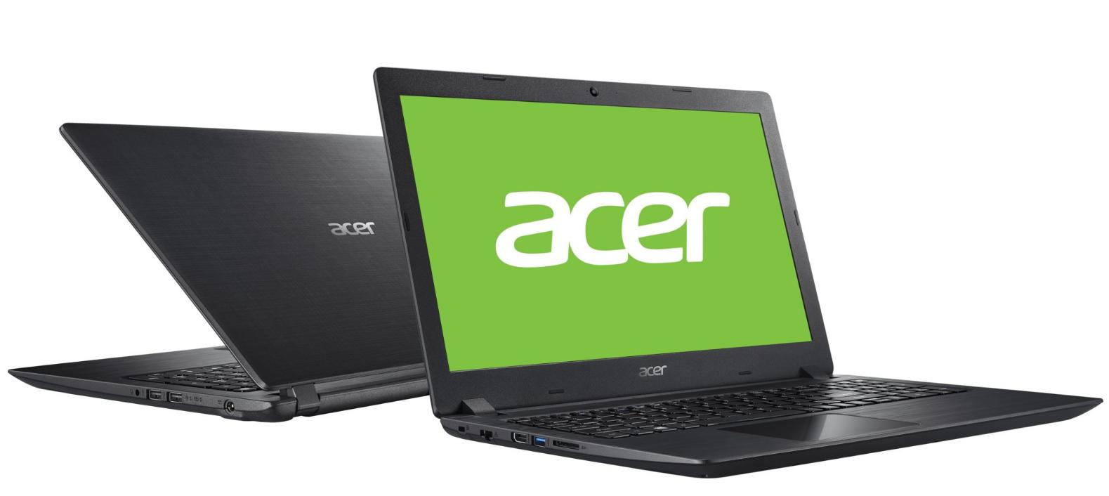 Лаптоп ACER A315-31-C2SU, Intel Celeron N3350, Intel HD Graphics 500, 15.6 инча