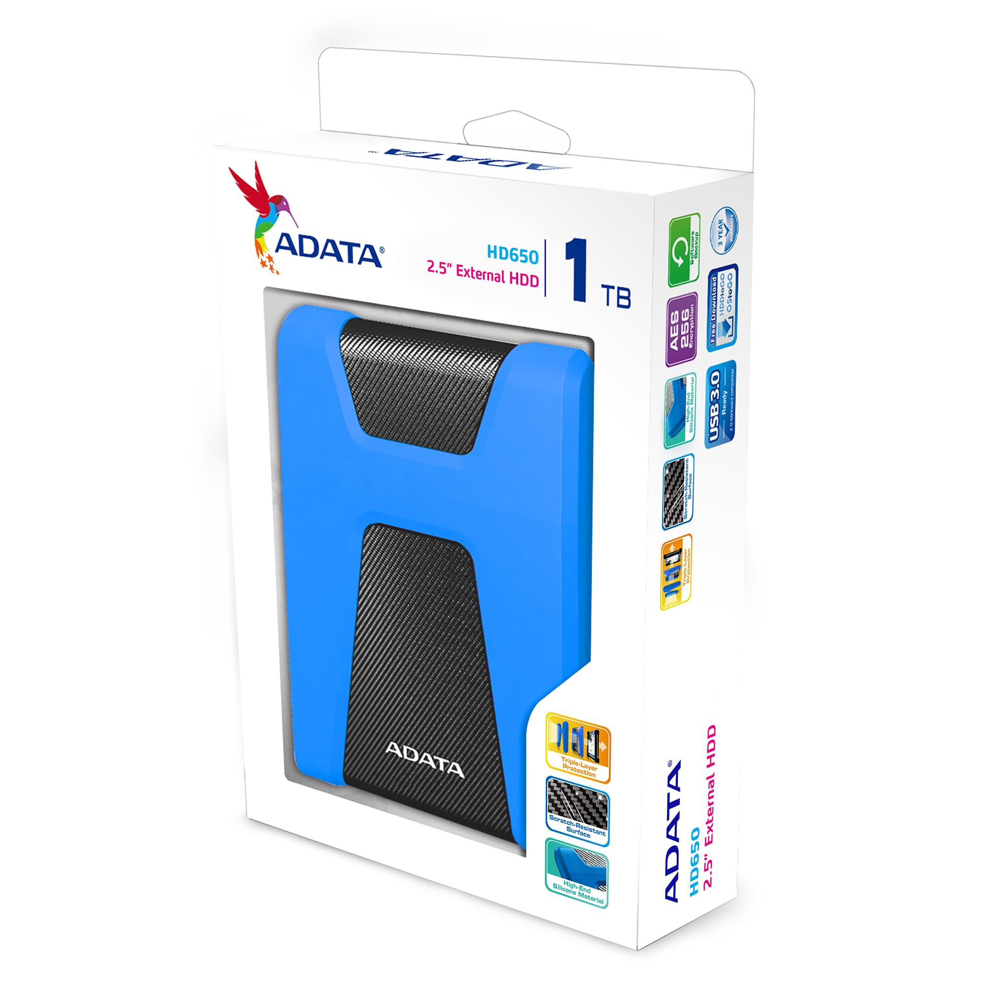 EXT 1TB ADATA HD650 USB3.1-2-1-4