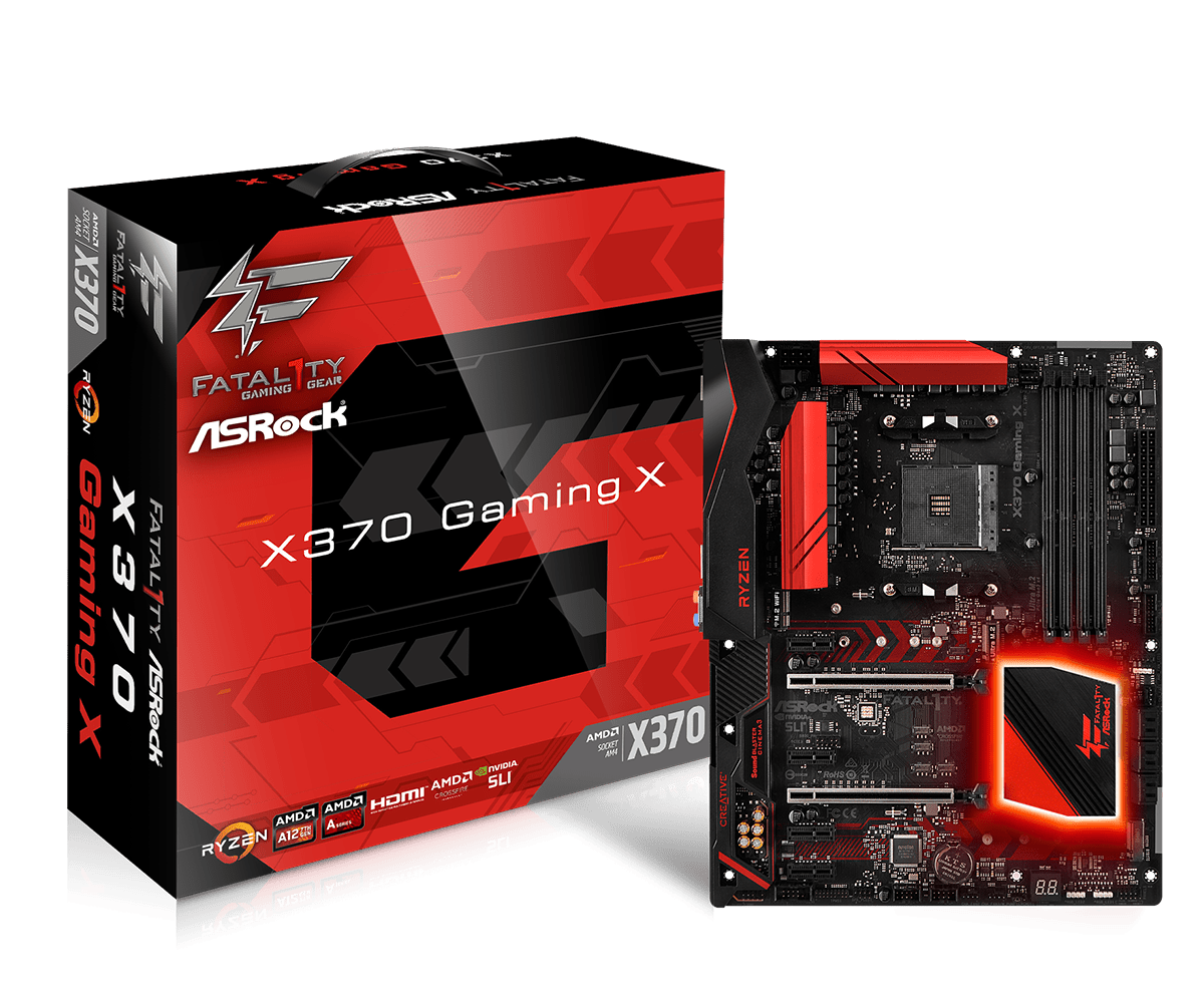 Дънна платка Asrock X370 GAMING X /AM4
