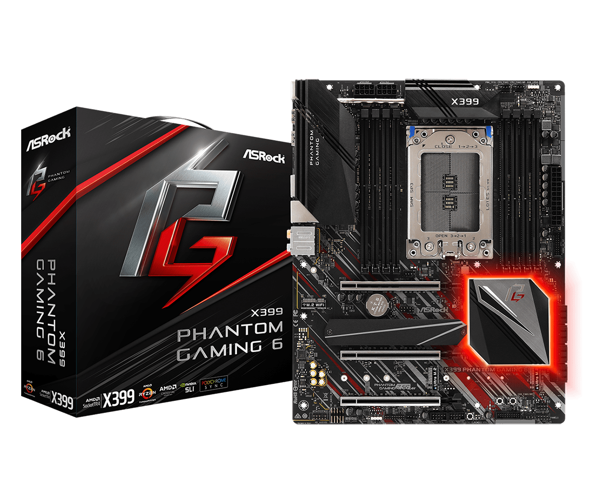Дънна платка Asrock X399 PHANTOM GAMING 6
