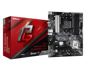 Дънна платка Asrock B550 PHANTOM GAMING4/AC
