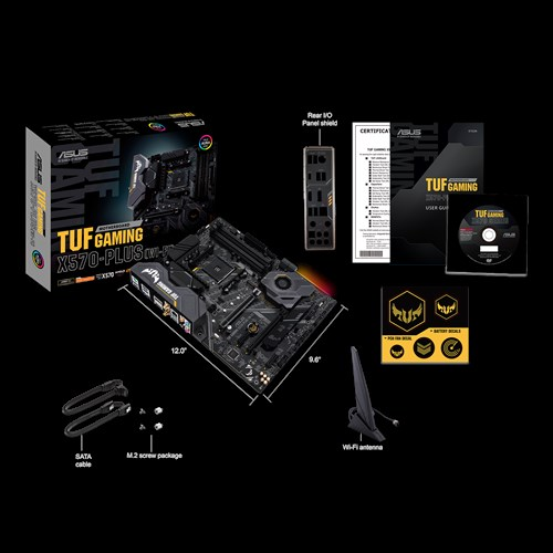 Дънна платка Asus TUF GAMING X570-PLUS WI-F