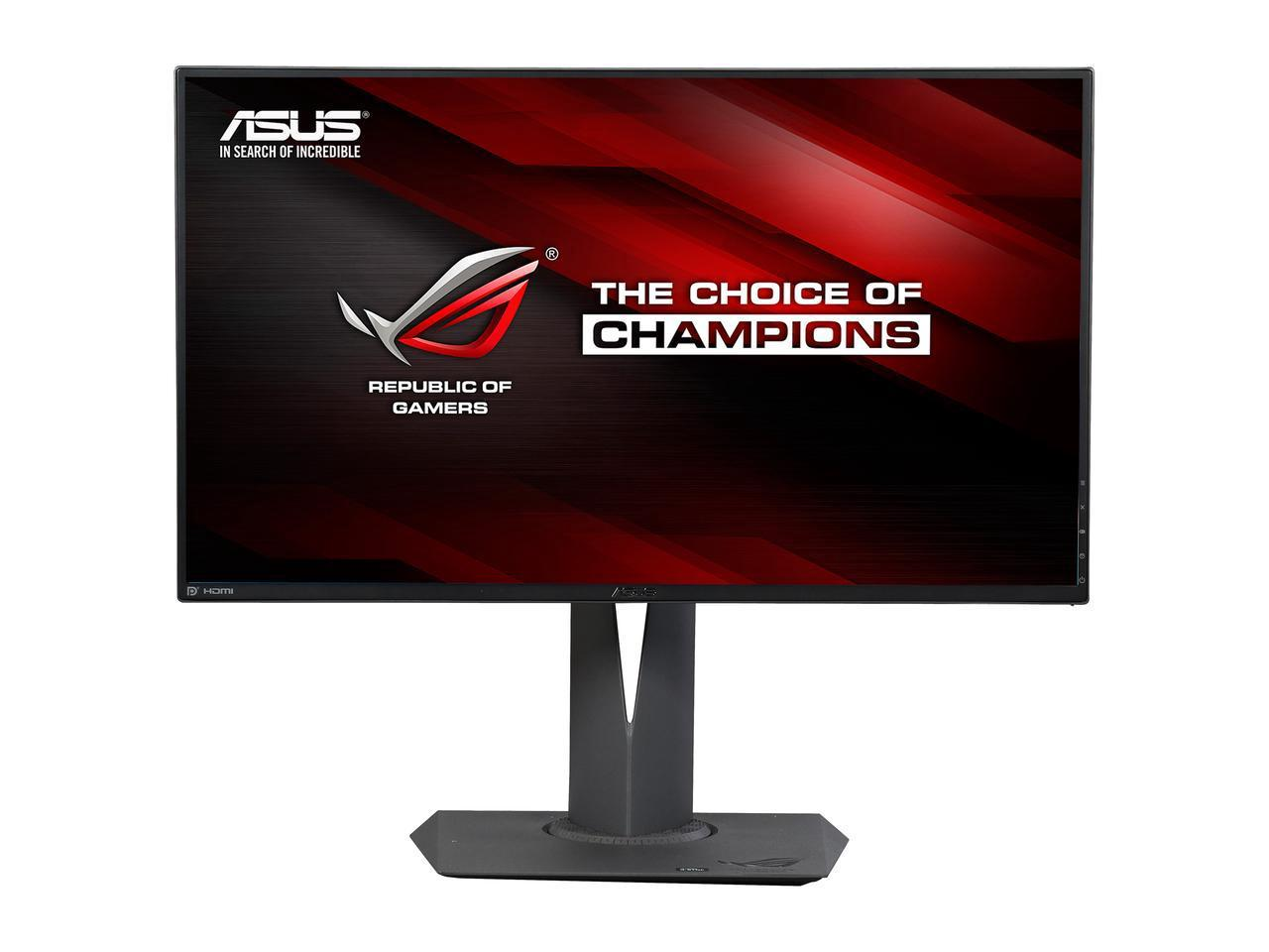 "Монитор ASUS ROG Swift PG279Q 27"" IPS, 2560x1440 (up to 165Hz), 4 ms, G-Sync"