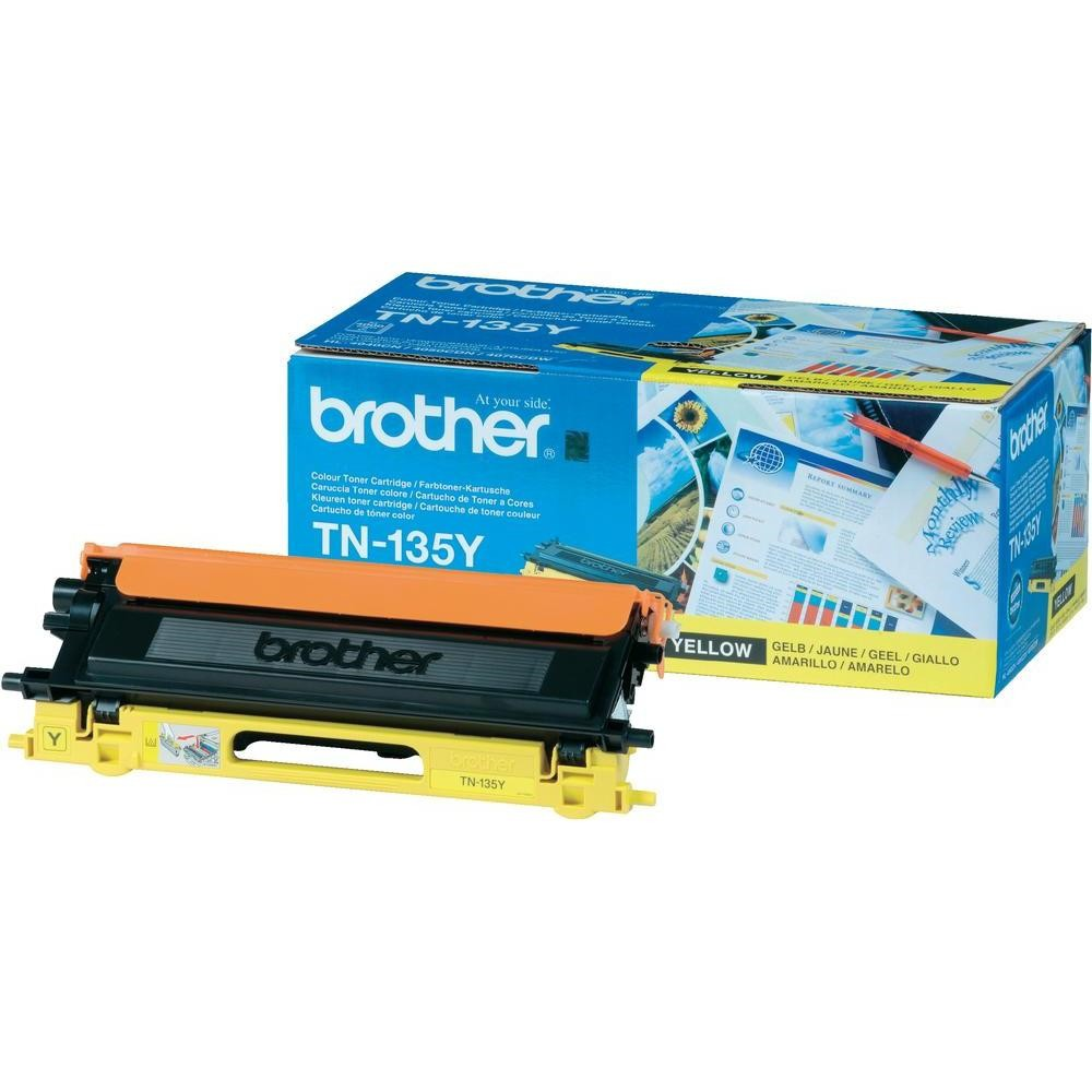 Brother TN-135Y Toner Cartridge High Yield