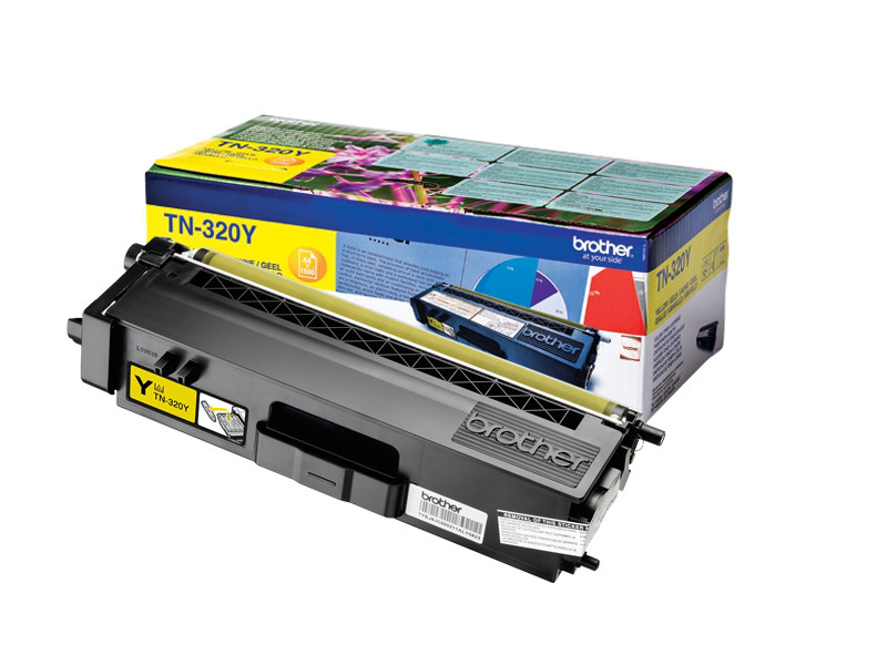 Brother TN-320Y Toner Cartridge Standard
