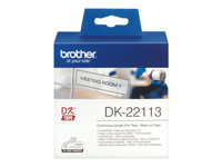BROTHER P-Touch DK-22113 transparant continue length film 62mm