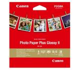 "Canon Plus Glossy II PP-201, 5x5"" , 20 sheets"