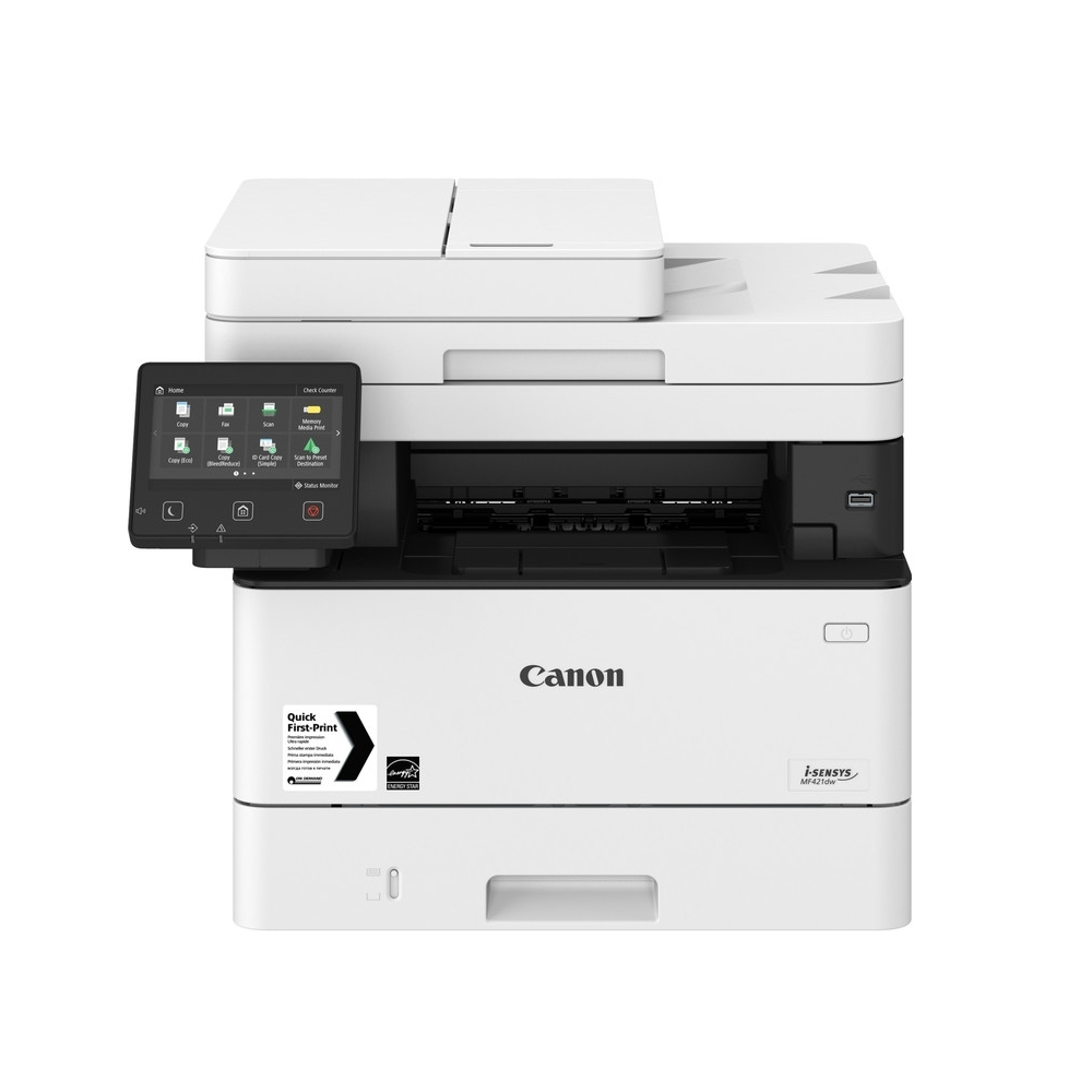 Canon i-SENSYS MF421dw Printer/Scanner/Copier + Canon CRG-052