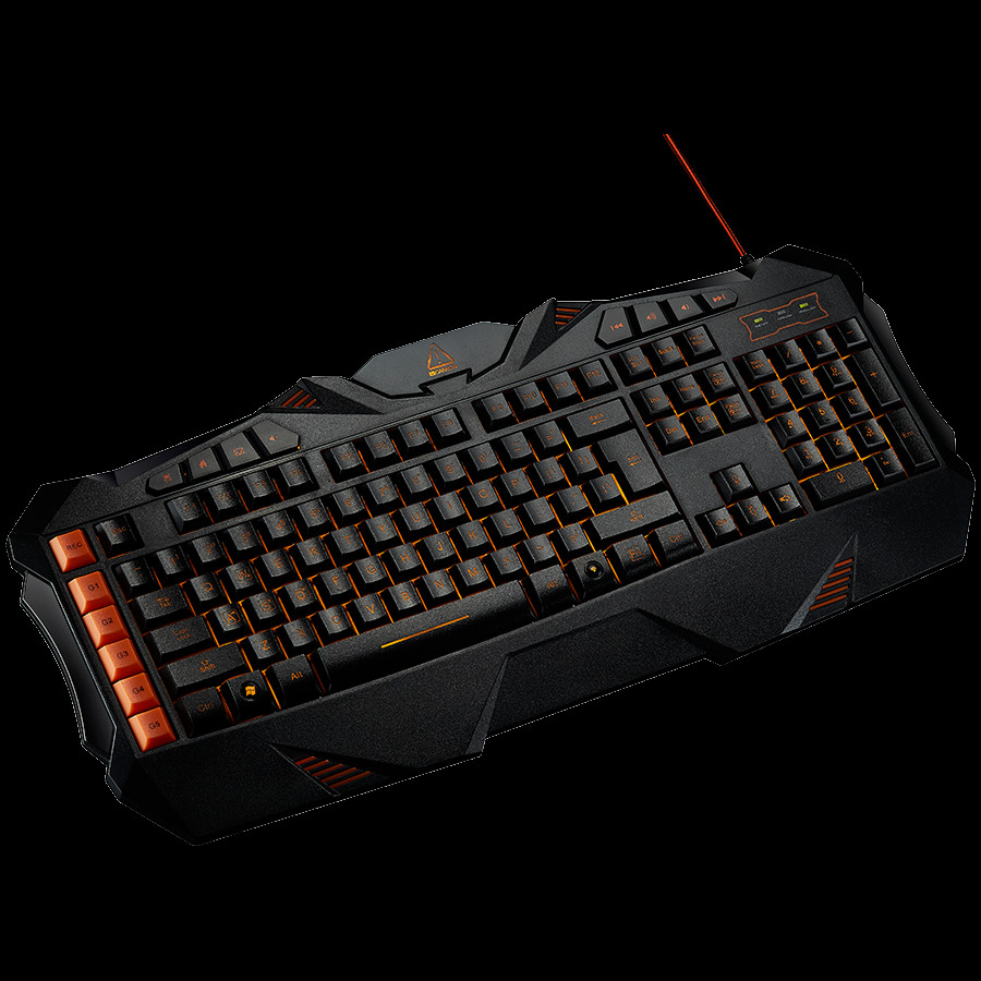 CANYON Wired multimedia gaming keyboard with lighting effect-2-2-2