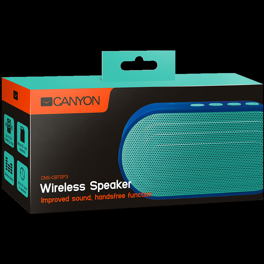 CANYON Portable Bluetooth V4-2-2-2