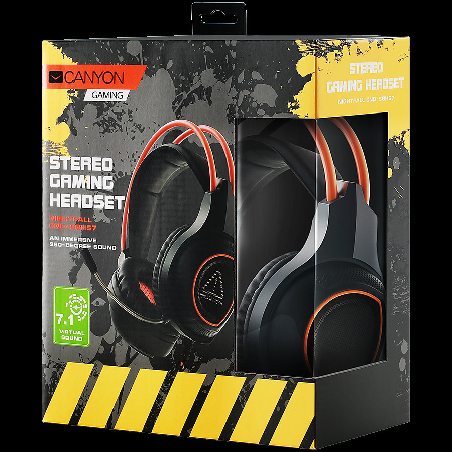 Canyon Gaming headset with 7-2-1-4