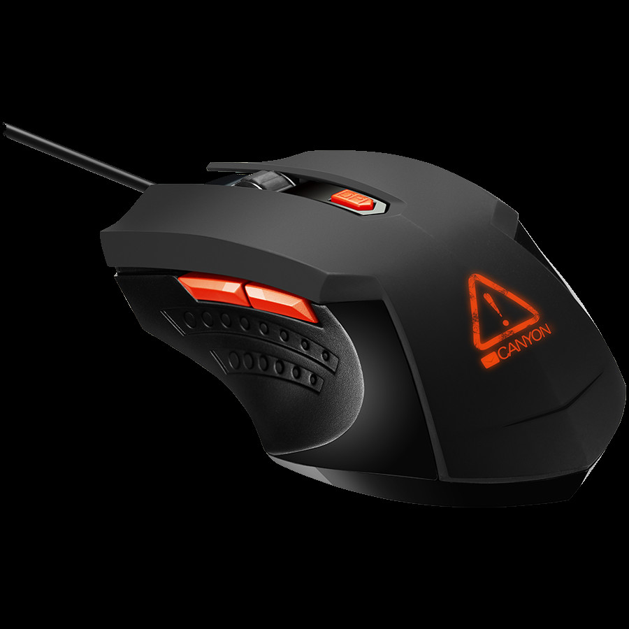 Optical Gaming Mouse with 6 programmable buttons