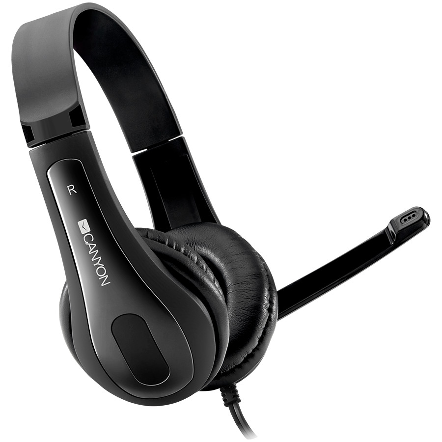 CANYON HSC-1 basic PC headset with microphone