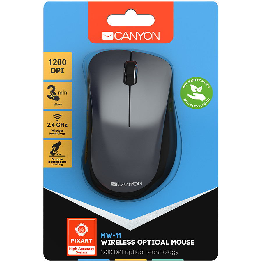 Canyon  2.4 GHz  Wireless mouse ,with 3 buttons,-2-1-4