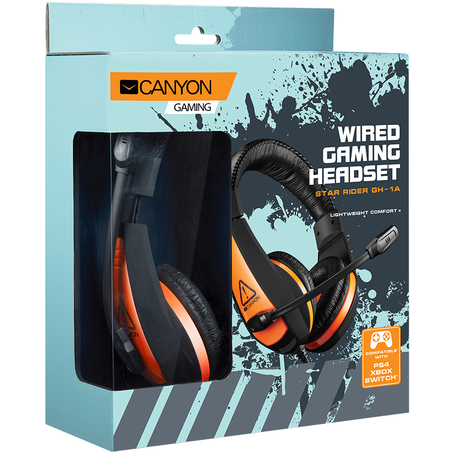 CANYON Gaming headset 3-2-2-2