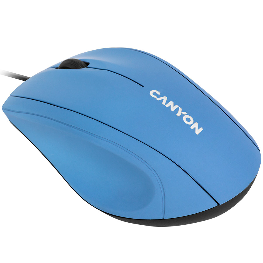 Wired Optical Mouse with 3 keys