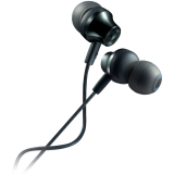 Stereo earphones with microphone