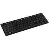 CANYON 2.4GHZ wireless keyboard, 104 keys, slim design,