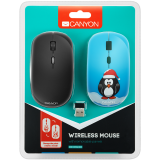 CANYON2.4GHz wireless Optical  Mouse with 4 buttons, DPI
