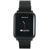 Canyon Smart watch, CNS-SW73BB, 1.22inch IPS full touch