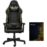 Argama Gaming chair + Floor mat 100x130cm.PU leather