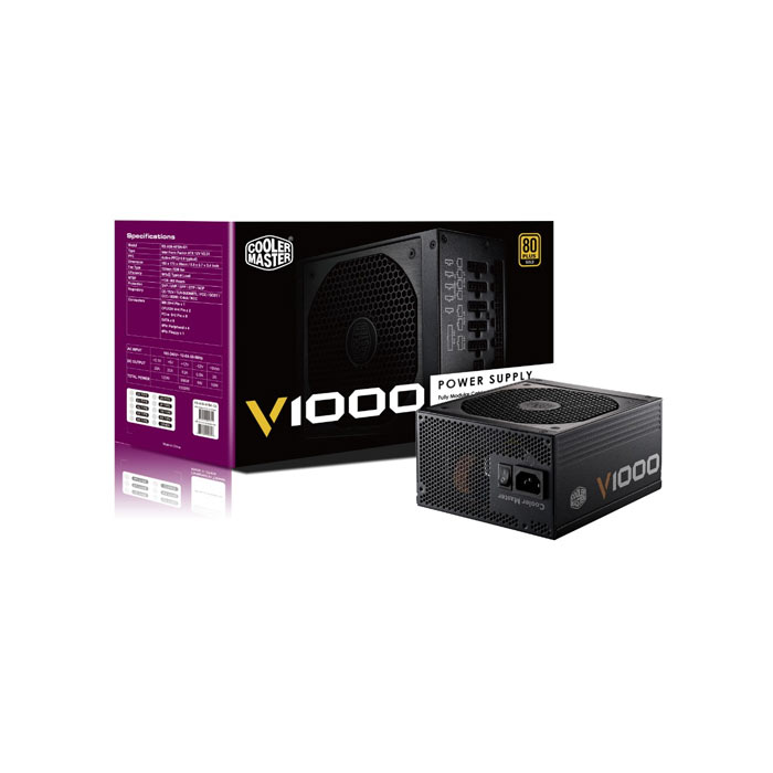 Cooler Master PSU CM V1000 1000W VANGUARD