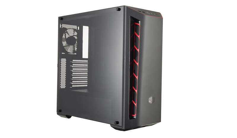 Кутия Cooler Master MASTERBOX MB510L RED TRIM