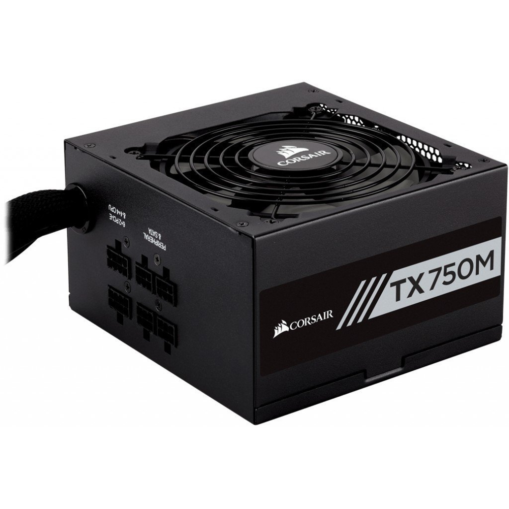 Захранване Corsair Enthusiast Series TX750 Power Supply, 750 W