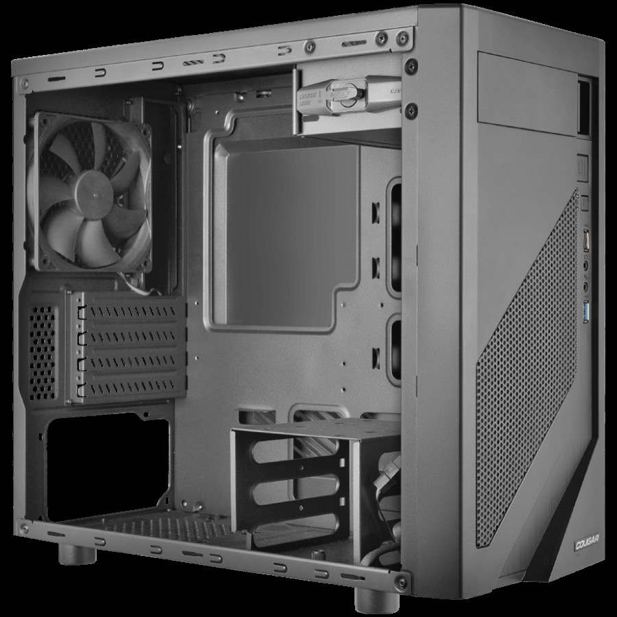 Chassis COUGAR MG110-W, Mini Tower, Mini ITX/Micro ATX, Dimension-2-2-2