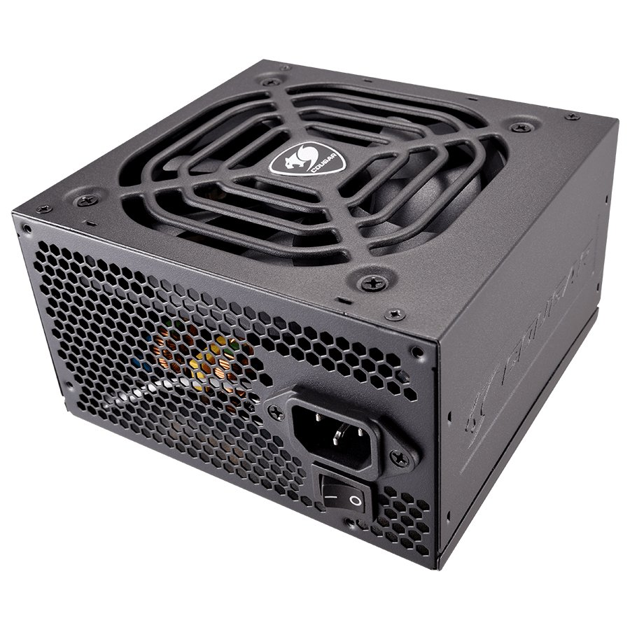 COUGAR VTE 400, 400W, 80 Plus Bronze, Ultra-Quiet 120mm Fan with Thermal Speed Control, Active Power Factor Correction