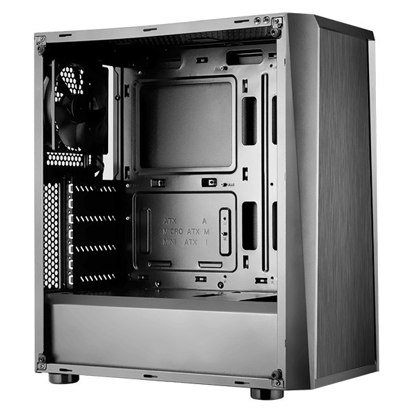Chassis COUGAR MX340, Middle Tower, Mini ITX / Micro ATX / ATX, Dimension-2-2-2