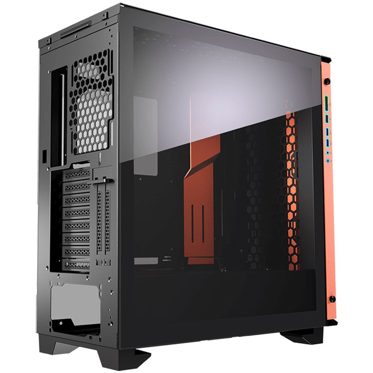 Chassis COUGAR Dark Blader-S, Full Tower, Mini ITX/Micro ATX/ATX/CEB/**E-ATX, USB 3.0x2/Micx1/Audiox1/RGB Control Buttonx1,Fan 120mm x 1-1-3-3