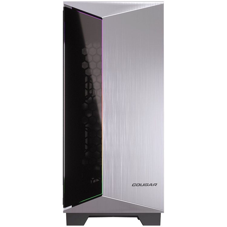 Chassis COUGAR Dark Blader-G, Full Tower, Mini ITX/Micro ATX/ATX/CEB/**E-ATX, USB 3.0x2/Mic x1/Audio x1/RGB Control Button x1, Rear: 120mm x1