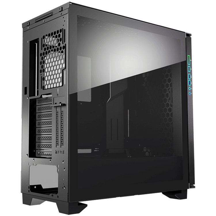 Chassis COUGAR Dark Blader-G, Full Tower, Mini ITX/Micro ATX/ATX/CEB/**E-ATX, USB 3.0x2/Mic x1/Audio x1/RGB Control Button x1, Rear: 120mm x1-1-3-3