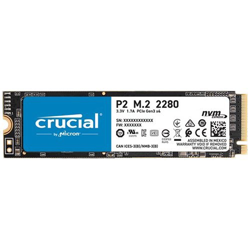 CRUCIAL P2 250GB SSD