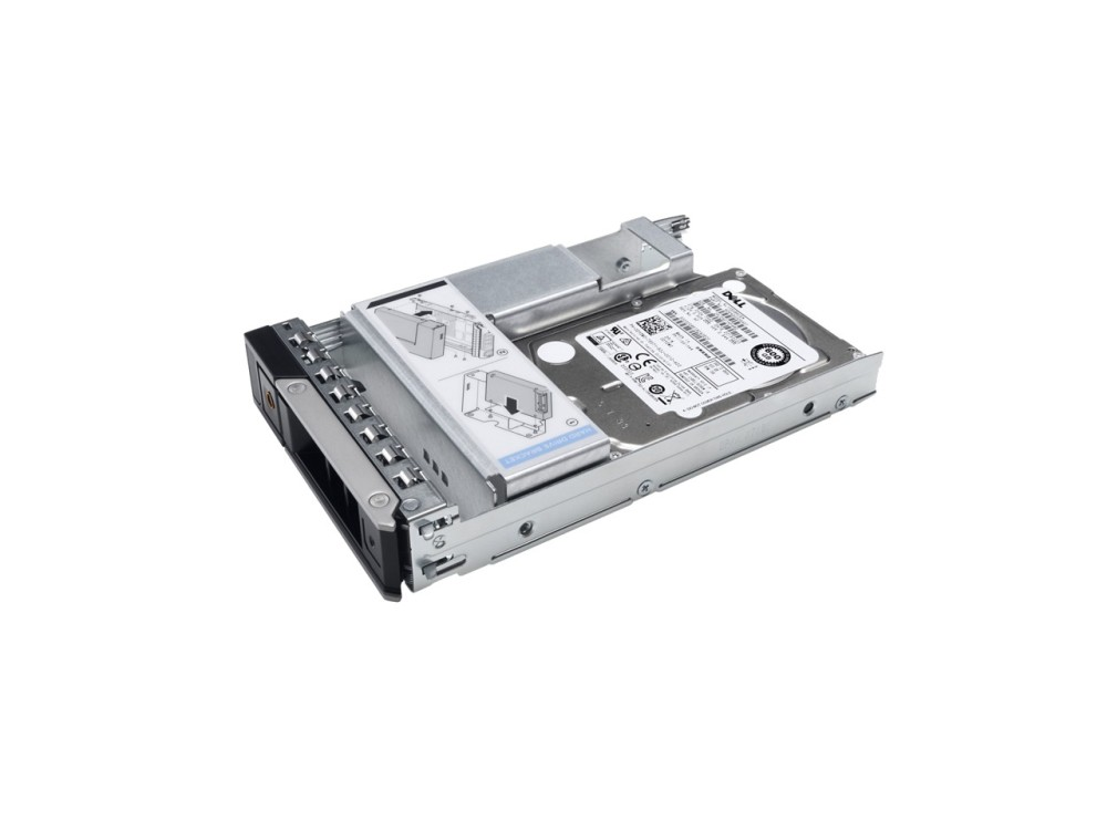 Dell 600GB 15K RPM SAS 12Gbps 512n 2.5in Hot-plug Hard Drive, 3.5in HYB CARR, CK