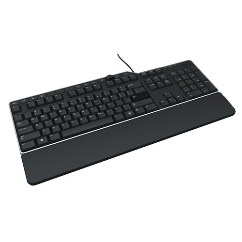 US/Euro (QWERTY) Dell KB-522 Wired Business Multimedia USB