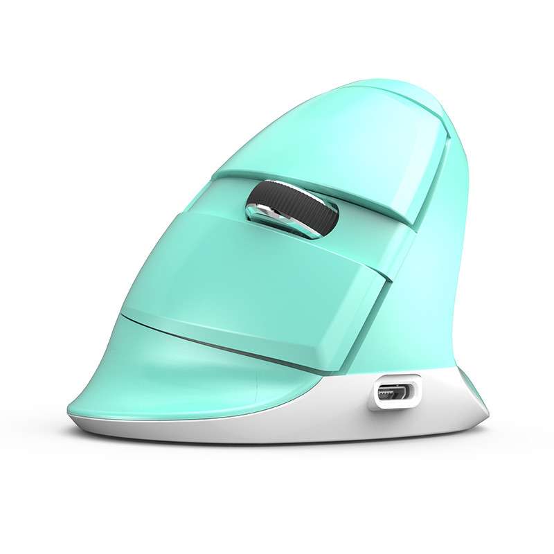 Безжична/Bluetooth мишка DELUX M618mini Mint green