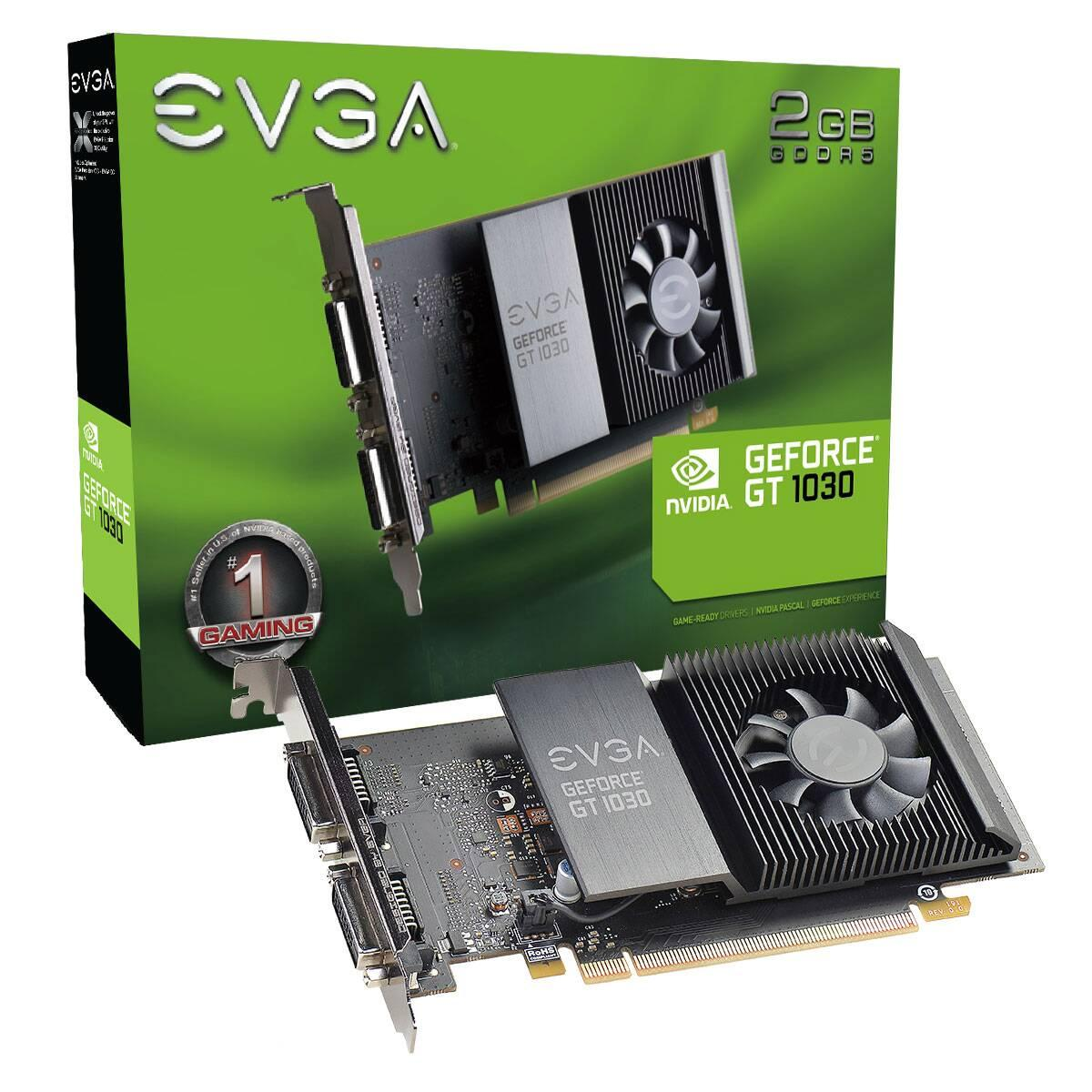 Видео карта EVGA GeForce GT 1030 SC 2GB