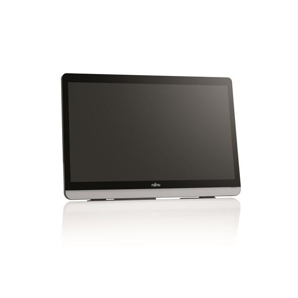 Monitor FUJITSU E22 Touch, 21.5 inch, Wide, Full HD, DVI-D, D-Sub, HDMI, Black/silver