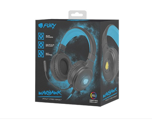 Fury Gaming Headset Warhawk RGB-2-1-4