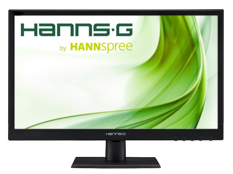 Monitor HANNSPREE HP205DJB, IPS, 19.5 inch, Wide, HD, D-Sub, DVI-D, Black
