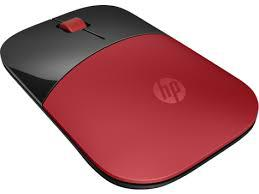 HP Z3700 Red Wireless Mouse