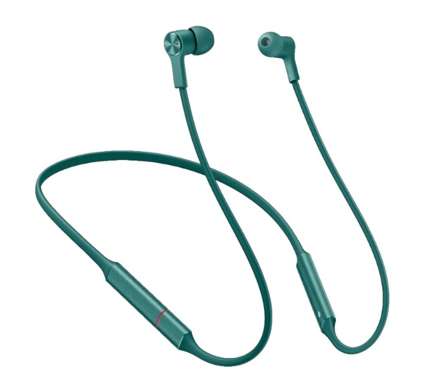 Huawei CM70-L, Round neck bluetooth earphone, Green