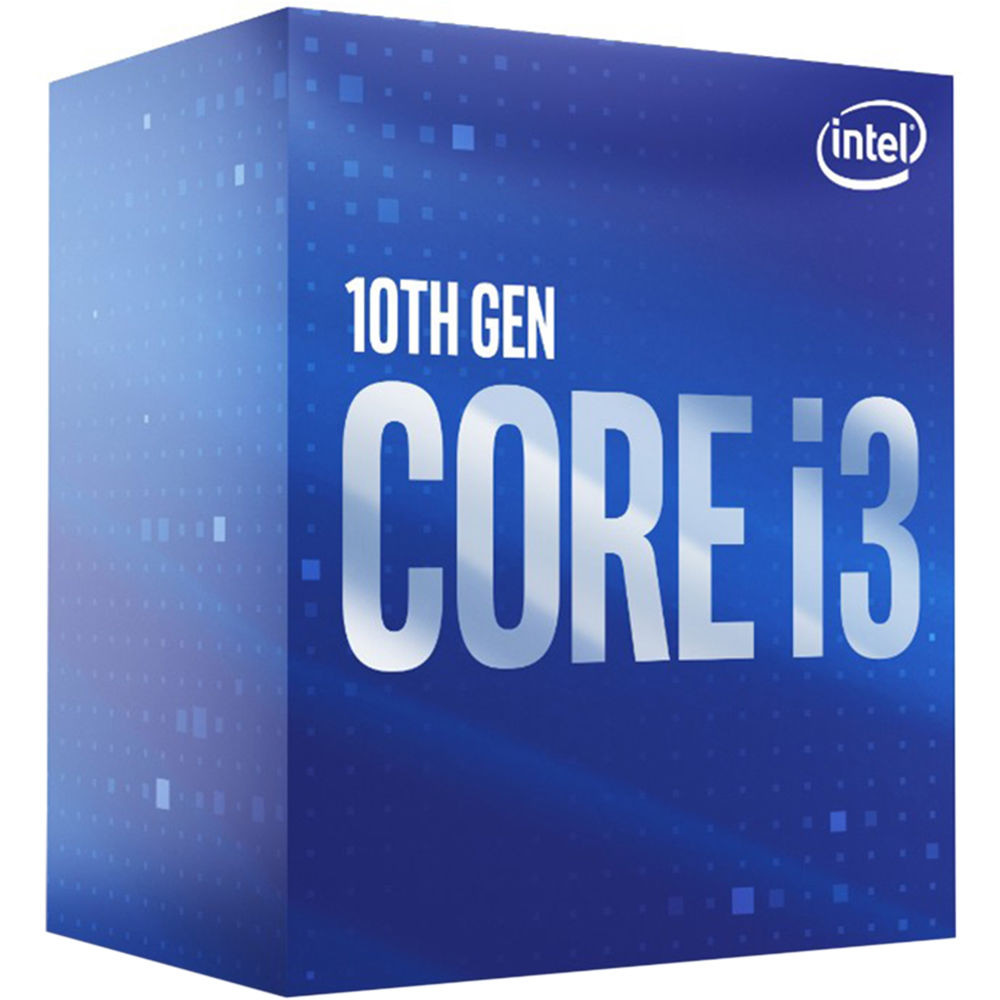 Intel CPU Desktop Core i3-10100